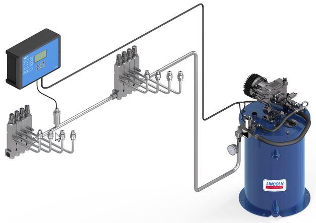Skf Single Line Lubrication Systems